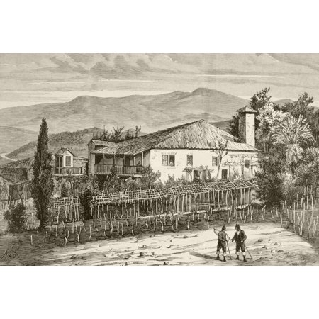 Birthplace In Casdemiro Galicia Spain Of Spanish Monk And Scholar Benito Jernimo Feijo Y Montenegro From A 19Th Century Illustration Canvas Art - Ken Welsh Design Pics (17 x 11)