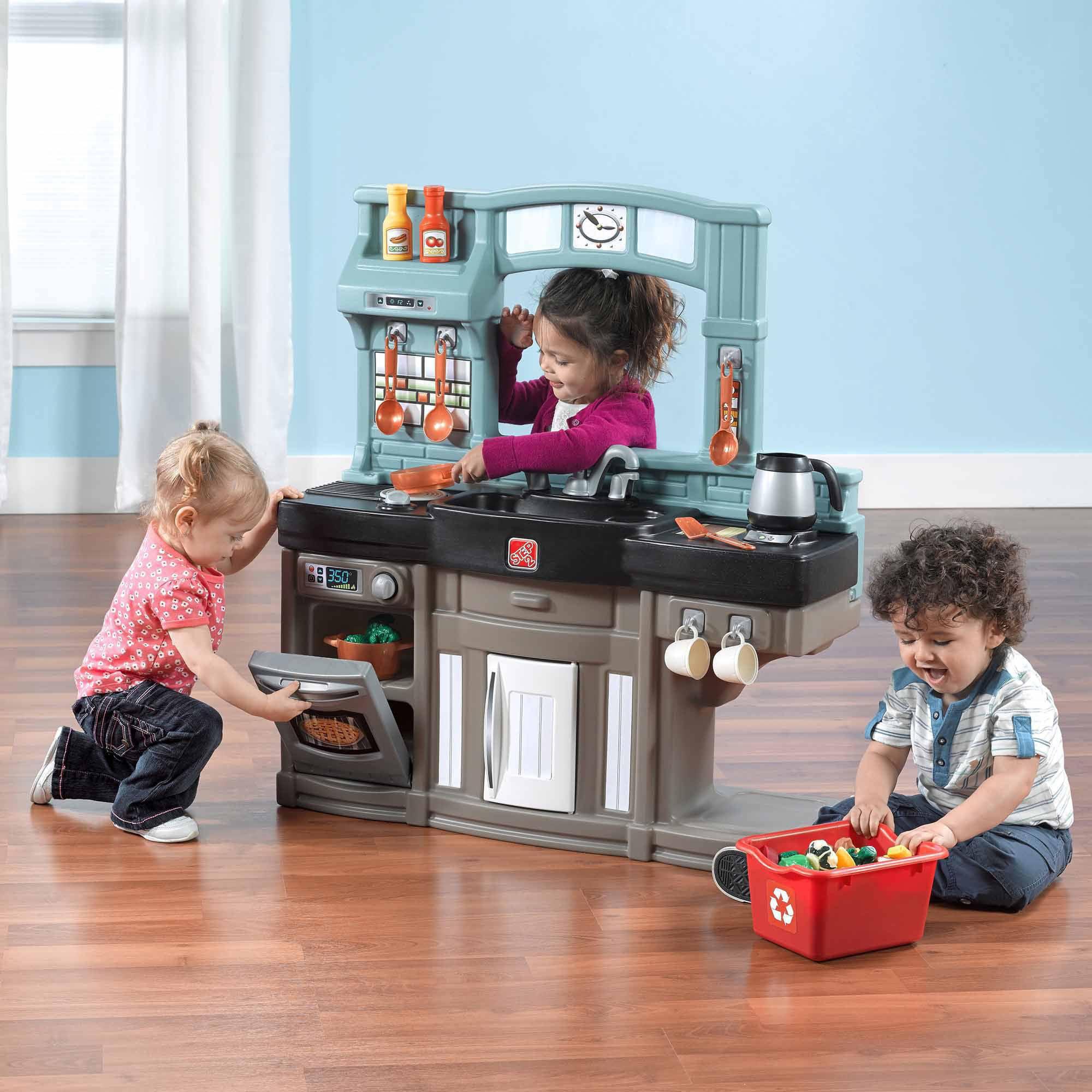 Step2 Best Chefs Play Kitchen with Accessory Set Walmart