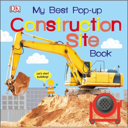 My Best Pop Up Construction Site Book (Board