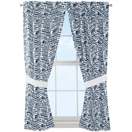 Nfl Seattle Seahawks   Anthem   Window Curtain Panels