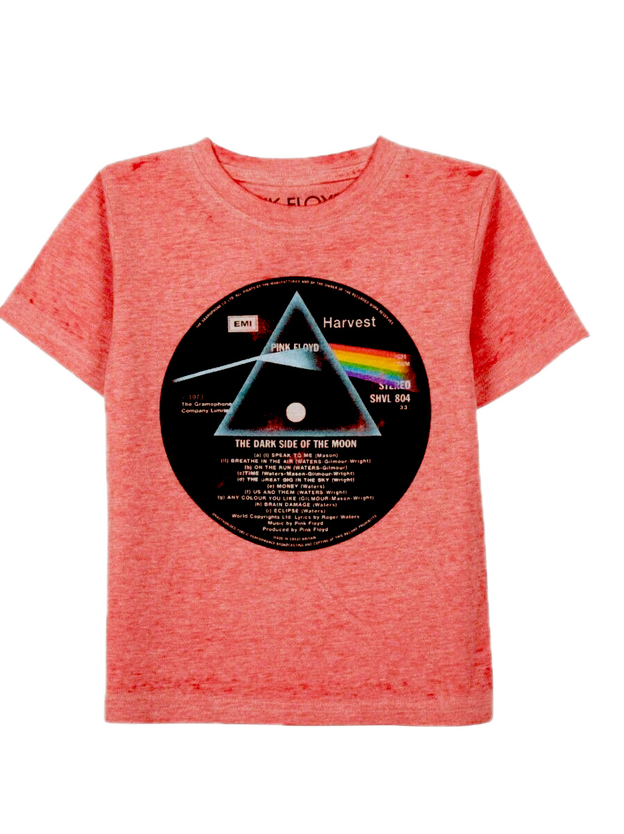 Toddler & Baby Boys Pink Floyd T-Shirt - Short Sleeve