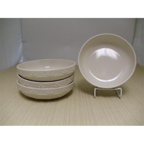 Signature Housewares 70859-4 Sorrento Ivory 8 inch Individual Pasta Bowl