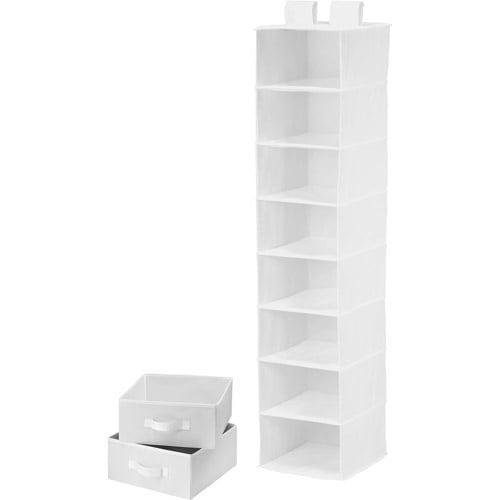 Honey Can Do 8-Shelf Organizer with 2 Drawers