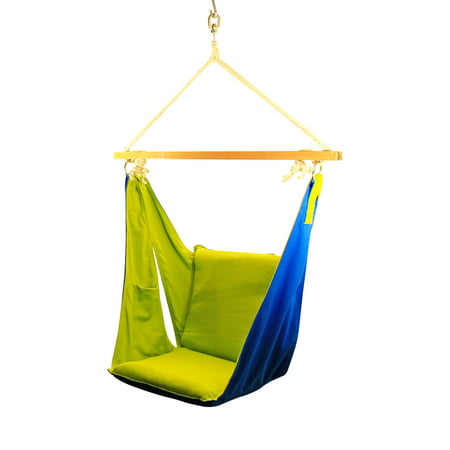 Miraculous Ahg Happycamper Kids Butterfly Swing Chair Pod Hanging Chair Nook Tent Outdoor Indoor Creativecarmelina Interior Chair Design Creativecarmelinacom
