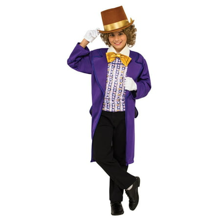 Willy Wonka Boys Costume