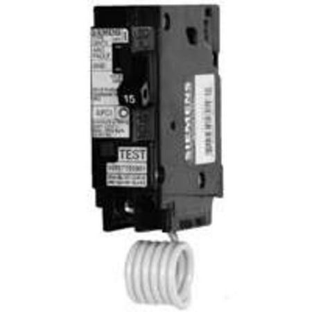 Brkr Circ 120 240Vac 15A 1P Siemens Energy Circuit Breakers Gfci Q115A