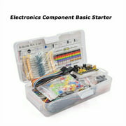 Eccomum Electronic Components Kit 830 Connect Points Breadboard Cable Resistor Applicable For