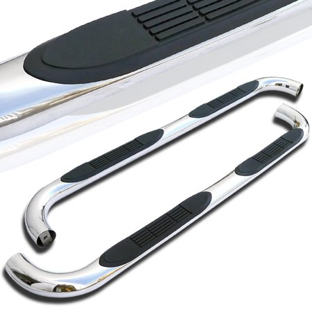 Spec-D Tuning For 1997-2003 Ford F150 Super Extend Cab Side Step Bar Neft Running Boards 1997 1998 1999 2000 2001 2002 2003