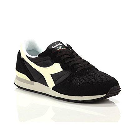 8e87d3813e Diadora 159886-C2609: Camaro Black/Whisper White Mens Sport Nylon/Suede  Sneaker (8, Black/Whisper White)