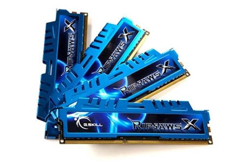 G.SKILL Ripjaws X Series 32GB (4 x 8GB) 240-Pin SDRAM DDR3 1600 (PC3 12800) Desktop Memory F3-1600C9Q-32GXM