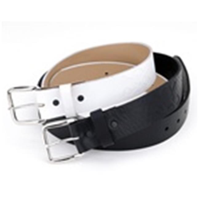 Tattoo Golf A024-W34 Tattoo Golf Belts White 34 by Tattoo Golf