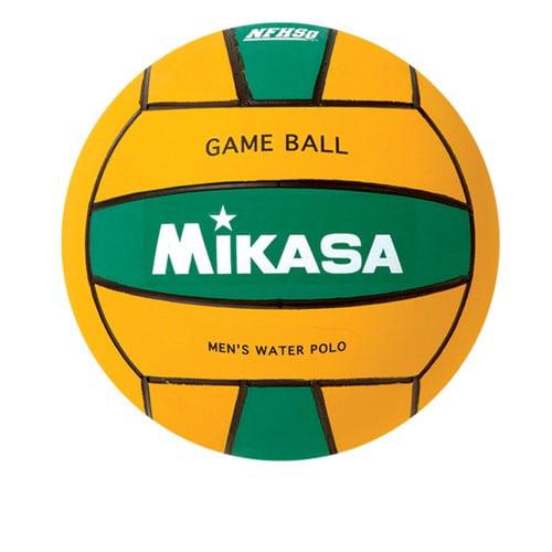 Water Polo Ball by Mikasa Sports, Size 5 Men Yellow Green Premier Series by
