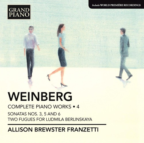 Mieczyslaw Weinberg - Weinberg: Complete Piano Works, Vol. 4 [CD]