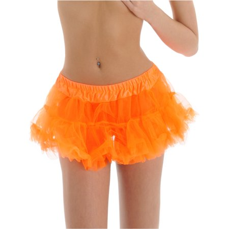 Orange Petticoat 2 Layer Halloween Costume or Dance Accessory Crinolines Sizes: One Size](Elna Baker Halloween Dance)