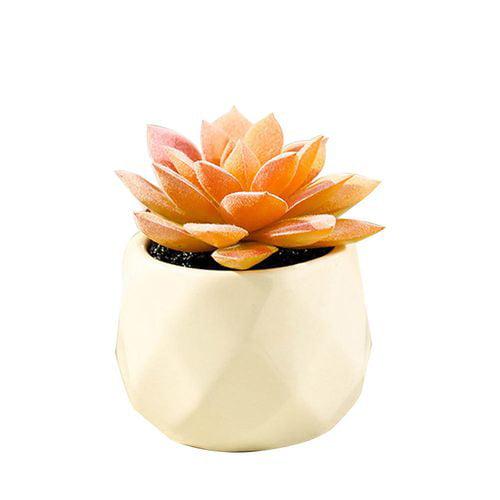 Artificial Mini Succulents Plants Fake Succulent Bonsai Plastic Flower Decor