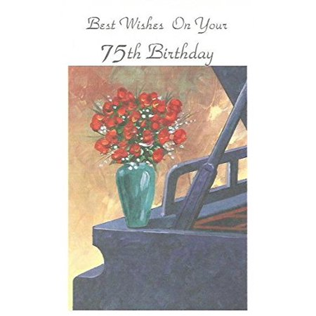 Best Wishes On Your 75th Birthday (Age9), Cover: Best Wishes On Your 75th Birthday By Magic Moments Ship from