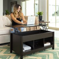 Best Choice Products Modern Home Coffee Table Furniture w/ Hidden Storage and Lift Tabletop - Espresso
