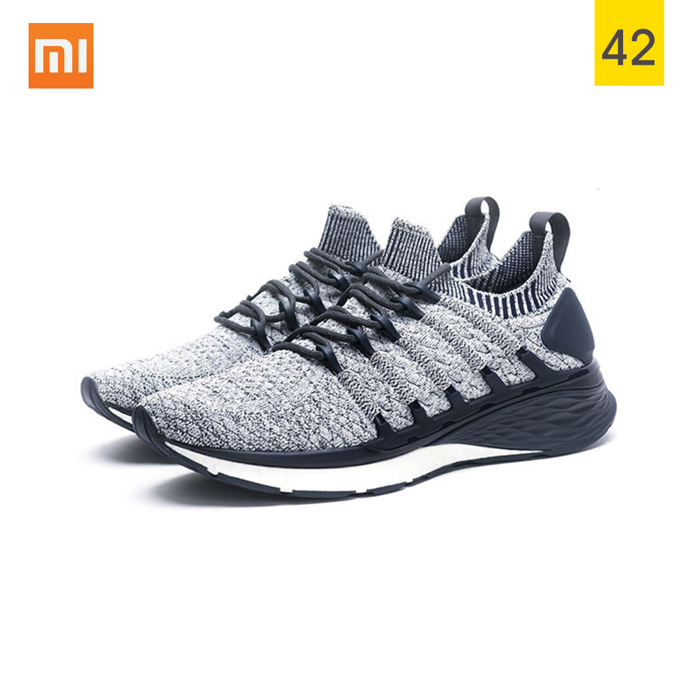 Xiaomi Mijia Sneaker Sports Shoes 3 Men Running Shoes Popcorn Cloud Bomb Free Force Composite Midsole Uni Molding With 3d Lock Fishbone System Walmart Com Walmart Com