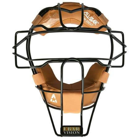 All-Star Pro Style Traditional Baseball/Softball Umpire Mask