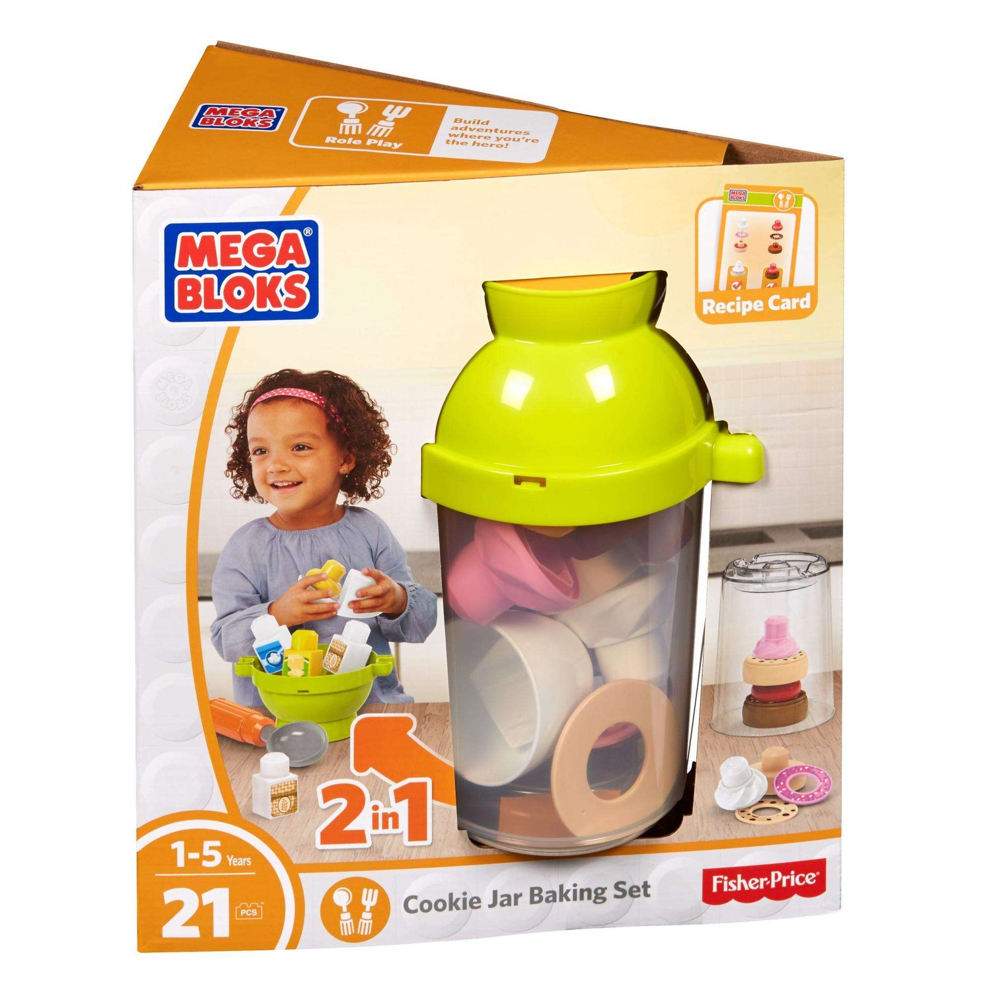 Mega Bloks Cookie Jar Baking Set