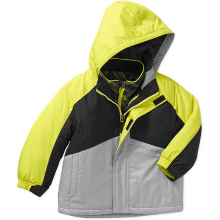 a06c5abd2 Healthtex - Baby Toddler Boy 3 in 1 Ski/Snowboard Jacket with Removable  Fleece Inner Layer - Walmart.com