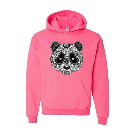 Panda Skull Unisex Hoodie Hooded Sweatshirt - Panda Hoodie