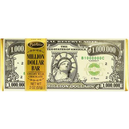 Bartons Million Dollar Chocolate Bar