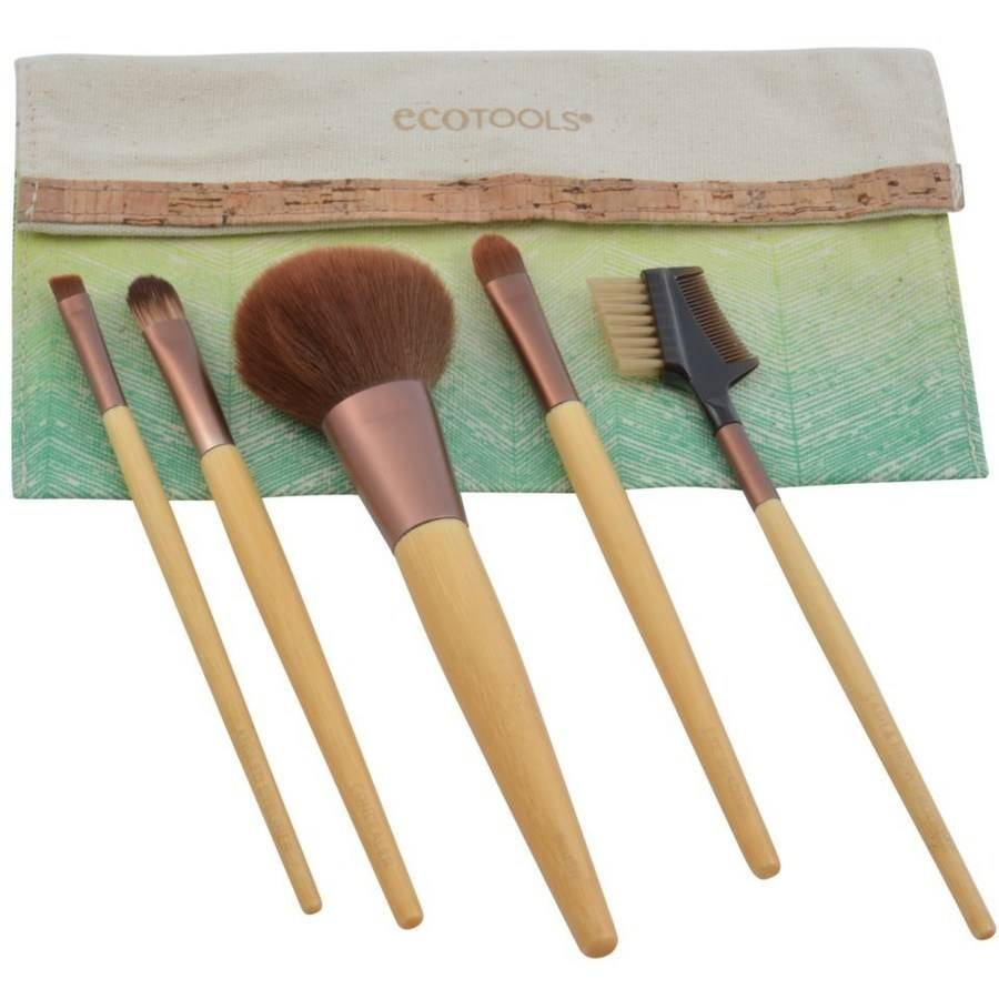 Ecotools Bamboo Brush Set, 01206, 6 pc