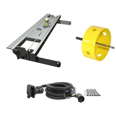 B&W Hitches GNRK1016 Turnoverball Gooseneck Hitch Trailer Kit with on