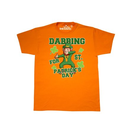 Dabbing for St. Patrick's Day Leprechaun T-Shirt for $<!---->