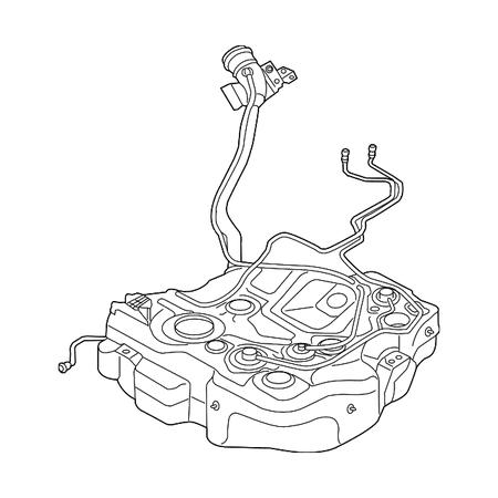 Audi A3 Fuel Tank