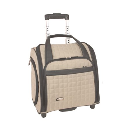 8a046c298c76 Travelon Wheeled Underseat Carry On w BackUp Bag - Walmart.com
