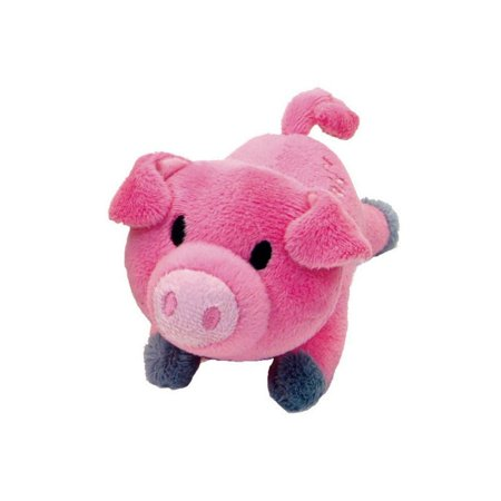 Lil Pals Ultra Soft Plush Dog Toy - Pig 5.5 Long - Pack of 12