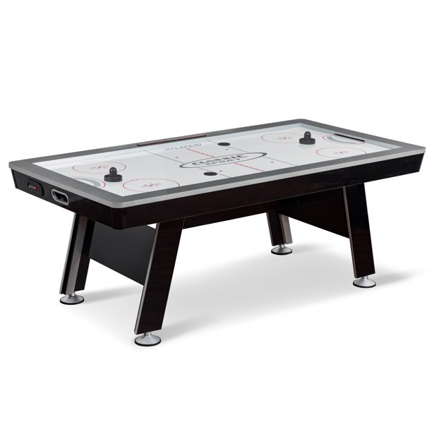 "Classic Sport 84"" X-Cell Hover Hockey Table, 2 Pushers and 2 Pucks Included"