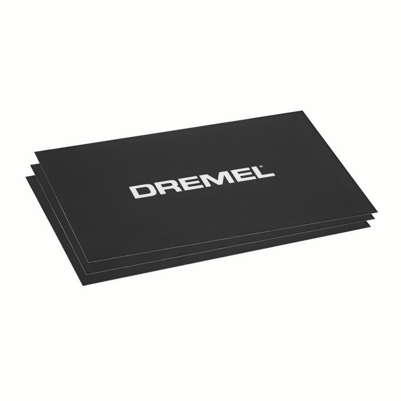 Dremel BT40-01 3D Printer Build Sheets, 3 Ct
