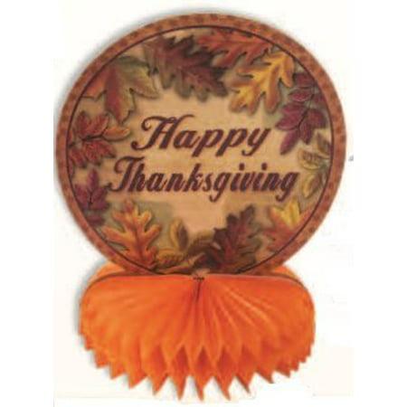Happy Thanksgiving Centerpiece Pkg/12 (Turkey Centerpieces Thanksgiving)