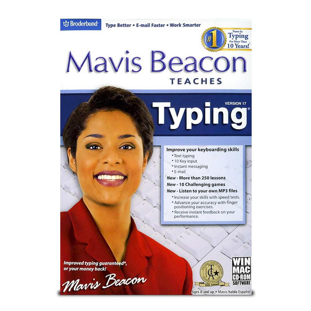 Mavis Beacon Teaches Typing 17 For Windows Mac Walmart Com