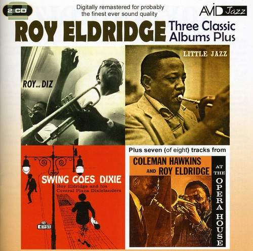 Roy Eldridge - 3 Classic LPs-Roy & Diz/Little Jazz/Swing Goes Dix [CD]