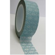 Love My Tapes Washi Tape 15mmX10m-Aqua Geometric Print