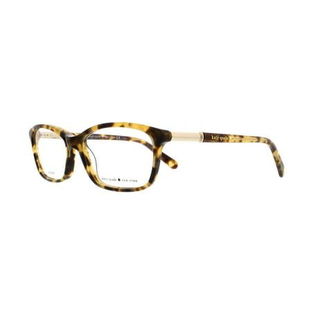 bd3eac982ac KATE SPADE Eyeglasses CATRINA 0ESP Camel Tortoise 53MM - Walmart.com