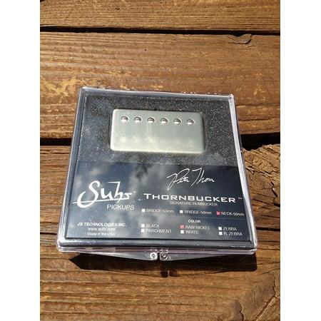SUHR Thornbucker PAF Neck Rhythm Humbucker Pickup Raw Nickel 50mm - Pete Thorn Signature (Rhythm Humbucker)