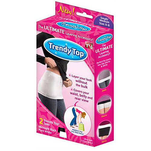 As Seen on TV Trendy Top, 2pk, Large