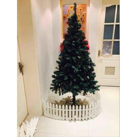 5.9FT Premium Artificial Christmas Pine Tree, Full Tree With Solid Metal Legs, 600