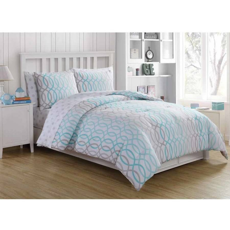 ***DISCONTINUED*** VCNY Home Lauren Infinity Bed in a Bag Comforter Set with Sheet Set