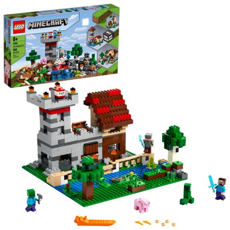 LEGO Minecraft The Crafting Box 3.0 Minecraft Castle and Farm Building Set 21161