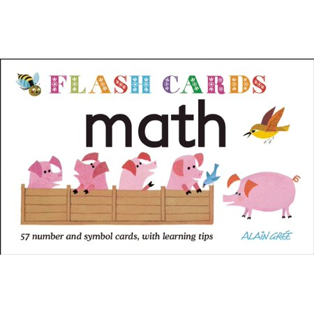 Math - Flash Cards: 57 Number And Symbol Cards, With Learning - Math Practice Flash Cards