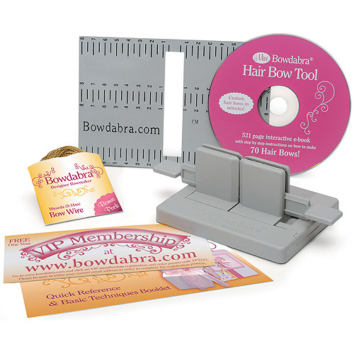 Darice Bowdabra Hair Bow Making Kit
