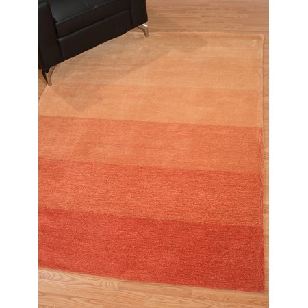 United Weavers Amoy Kenny Ombre Orange Woven Polyester Area Rug Or Runner Com