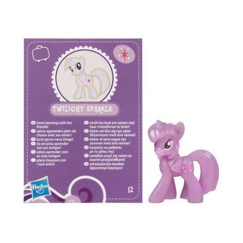 My Little Pony Friendship is Magic 2 Inch PVC CHASE Figure GlowintheDark Twilight Sparkle Purple Card