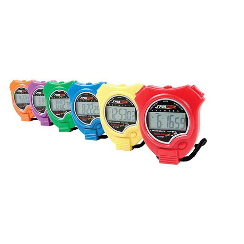 Sportime TimeTracker Basic Stopwatch, 6-Pack